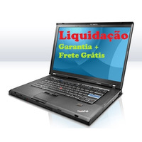 Notebook Intel, 4gb Hd500, Lenovo T400 - 1 Ano De Garantia