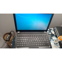 Notebook Compaq Hp Cq42 C. Dual Core 2gb 320gb Tela 14
