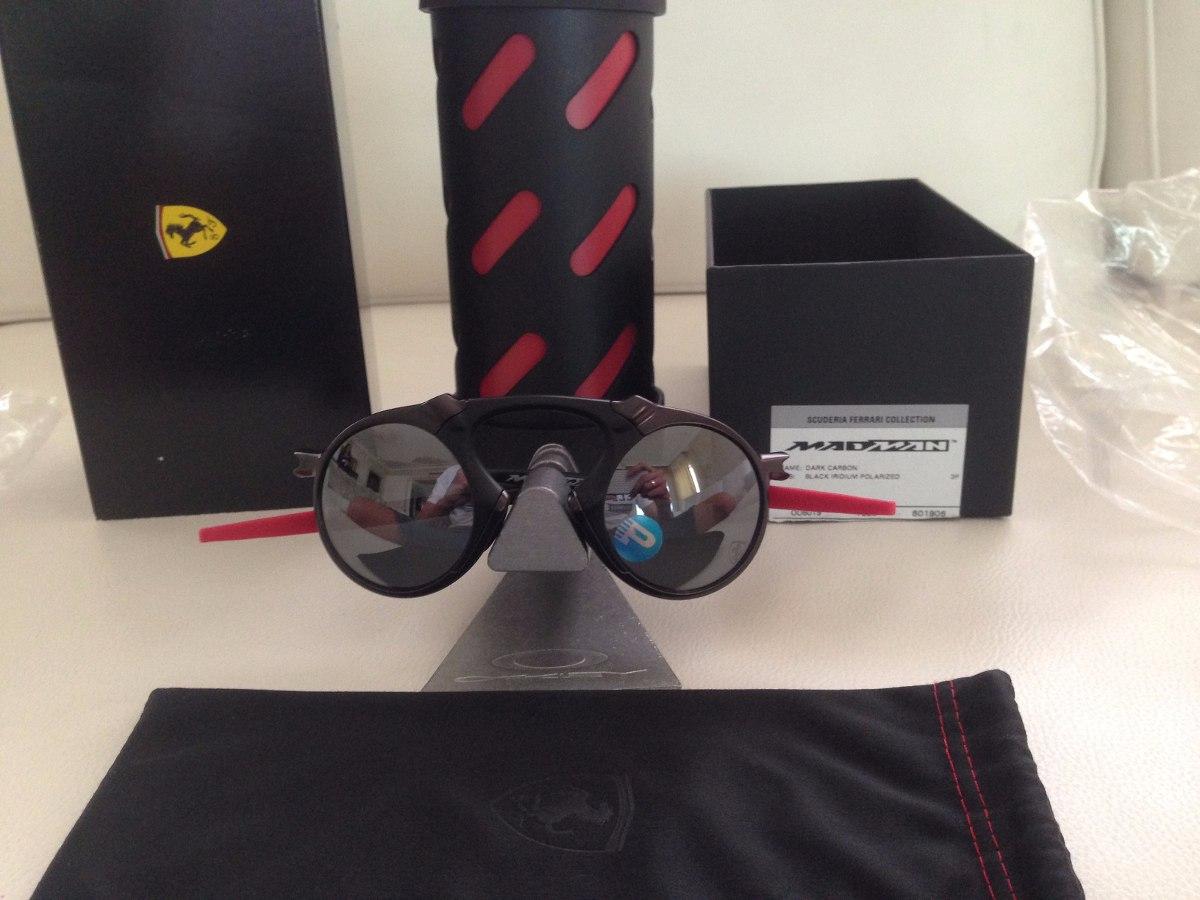 de4b8062d7de6 oculos oakley double face. oakley penny x metal ruby. óculos Oakley Ferrari  Madman Dark Carbon. Oakley Xmetal Mars