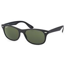 Óculos De Sol Ray Ban New Wayfarer Liteforce Rb4207 601-s/9a