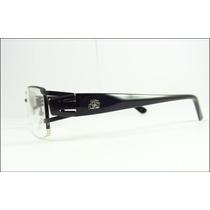 Armação Oculos De Grau Moderna Ideal Multifocal Preta - A597