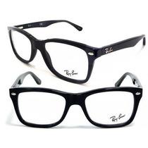 Armação Oculos De Grau Rayban Rb5228 Masculino Feminino