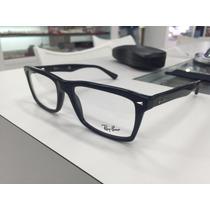 Oculos Receituario P/grau Ray Ban Rb 5287 2000 54 Preto Bril
