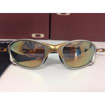 Oculos Oakley Juliet X-squared Romeu 1 Double X 24k Dourada