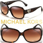 Óculos De Sol Michael Kors Mk Marrom Tartaruga Novo Original