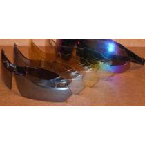 Óculos Bike Moto 5 Lentes Uv400 Armação Preta Estojo + Grau