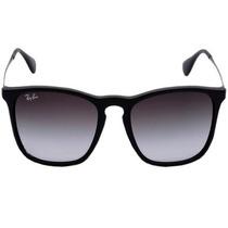 Óculos Ray Ban Chris 4187 - Armação Preta E Lentes Fumê