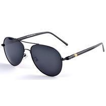 Óculos Polarizado Proteção Uv Estilo Aviador