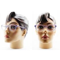 Armação Para Óculos De Grau Acetato Feminina - 8009