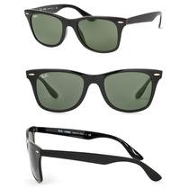 Óculos De Sol Rayban Wayfarer Full Fit 4195 + Case Marrom