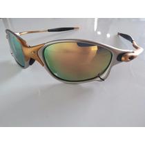 Óculos Juliet Double-x 24 K Lente Dourada Armação Fosca
