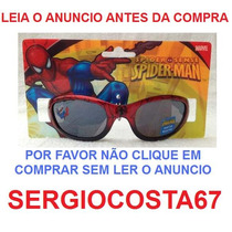 Oculos De Sol Infantil Homem Aranha - Original C47