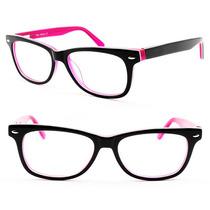 Armação Óculos Em Acetato Infantil Menina - B1096z C4