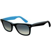 Óculos Ray Ban Wayfarer 2140 Preto, Original - Masc Feminino