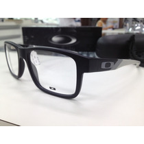 Oculos Receituario Oakley Junkyard Ox1074-0153 Black Grey