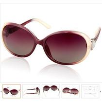 Lindo Óculos De Sol Feminino Lentes Polarizadas - Uva E Uvb