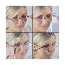 Óculos De Maquiagem. Levíssimo E Prático. Grafite. Lindo!