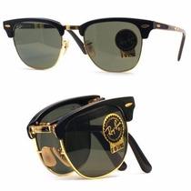 Oculos Rayban 3016/51 Clubmaster Dobravel Oferta 50% Off