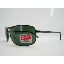 Óculos 8013 Preto Com Lentes Verdes G15 Frete Grátis