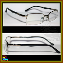 Armação Para Óculos De Grau Rb8666 Aro Grafite Envio Em 24h