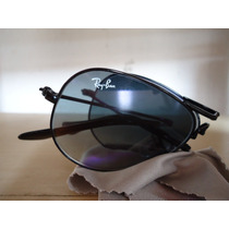 Ray Ban Aviator 3479 Preto Degradê Dobrável Original F. G !