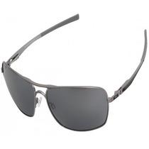 Óculos Oakley Plaintiff Squared Lead/black Iridium Em Oferta
