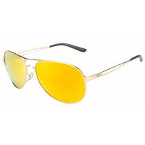 Óculos De Sol Oakley Caveat Gold Feminino Mod. Oo4054-18