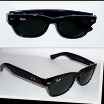 Óculos Wayfarer 2132 P Preto Lentes G15 Frete Grátis