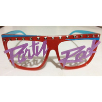 Oculos Lmfao Party Rock Sunglasses Neon Retro Original