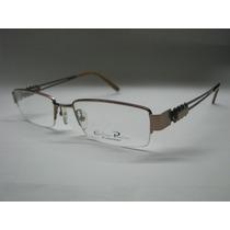 Armação De Óculos Feminino Carolina Paccini Marrom 9029