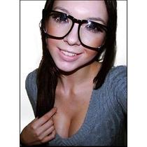 Armação Óculos Grau Wayfarer Geek Nerd Retro Grande