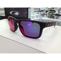 Oculos Oakley Holbrook 009102-36 Matte Black L .red Iridium