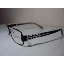 Armação De Óculos Unissex Para Lente De Grau Em Metal Mj