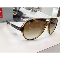 Oculos Solar Ray Ban Rb 4125 Cats 5000 710/51 Made In Italy