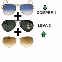 Óculos Rayban Aviador 3026 3025 Masculino Feminino Original