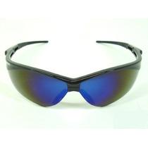 Oculos Jackson Safet Nemesis Epi Armação Preta E Lente Azul