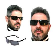 Óculos Esportivo Polarizado Uv400 Moto Pesca Armação Confort