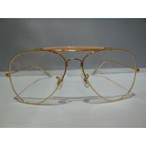 Armação Para Oculos De Grau Estilo Caçador Aviador