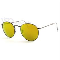 Ray Ban Rb3447 029/93 Amarelo John Lennon Novo Original