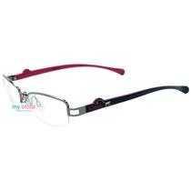 Óculos Kipling Kp1040 Prata E Rosa Original Com Nfe