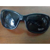 Óculos De Sol Calvin Klein Preto Feminino