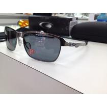 Oculos Oakley Tinfoil Polarizado 004083-05 Original P. Entre
