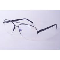 Armação P/ Óculos De Grau Aviador (meia Armação)