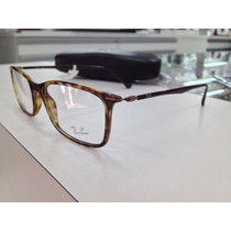 Oculos Receituario Ray Ban Light Ray Rb 7031 2301 53 /s Leve