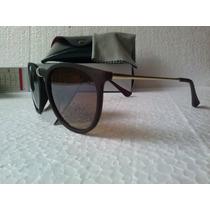 Óculos De Sol Feminino Modelo Erika Marrom Escuro Fosco