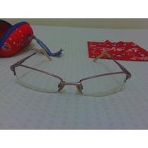 Armação De Óculos Infantil Adulto Disney Grau Casual Miopia