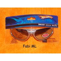 Óculos De Sol Infantil Menino-hot Wheels