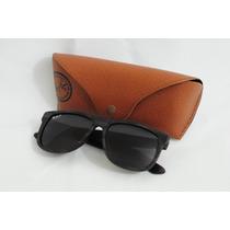 Óculos Ray Ban Justin Rb4165 Armação Madeira - Preto