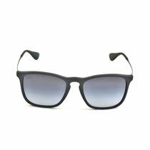 Oculos De Sol Masculino Quadrado Preto Fosco Chris S/ Veludo
