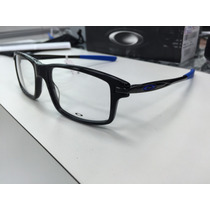 Oculos P/ Grau Oakley Ox1100-0353 Black/royal Blue Original